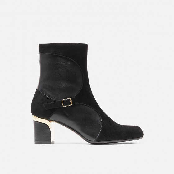 Jeje - Black Suede and Nappa