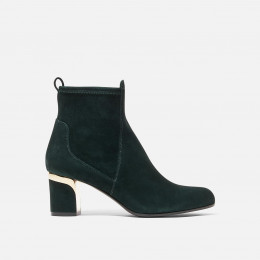 Margaux - Forest Green Suede